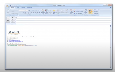 Business Connect how to send faxes through your email address